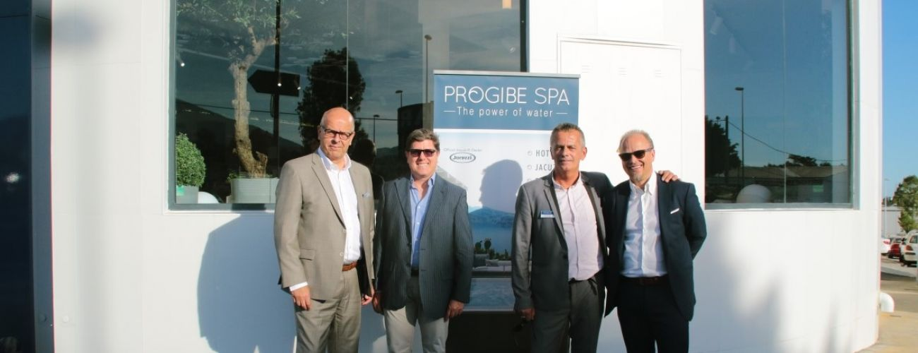 Opening event for the Progibe Spa showroom