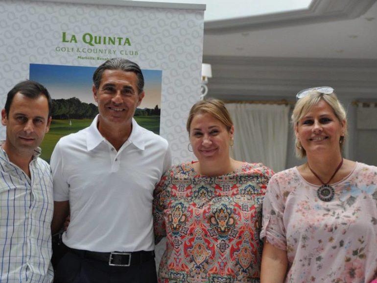 X Torneo de Golf Gomez y Molina Joyeros a beneficio de la Fundación Cesare Scariolo