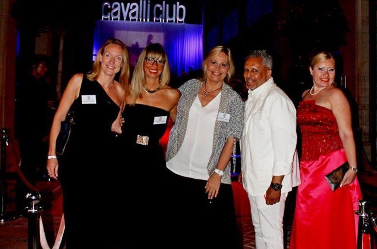 Roberto Cavalli inauguró el lujoso Cavalli Club en Puerto Banús