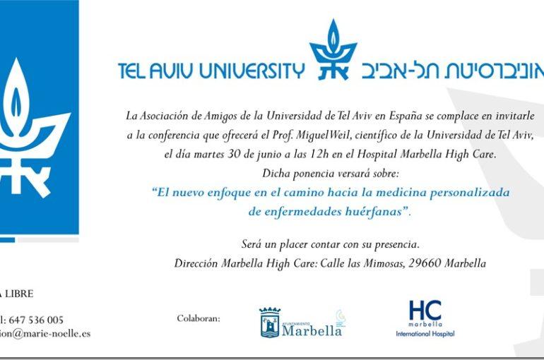 Segunda visita oficial de la Universidad de Tel Aviv a la Costa del Sol