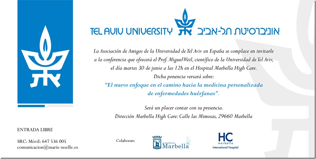 Tel Aviv University´s Second Official Visit to the Costa del Sol