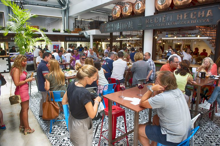 A positive assessment update of Ambrosía´s Gourmet Market´s first month, in Puerto Banús, Marbella