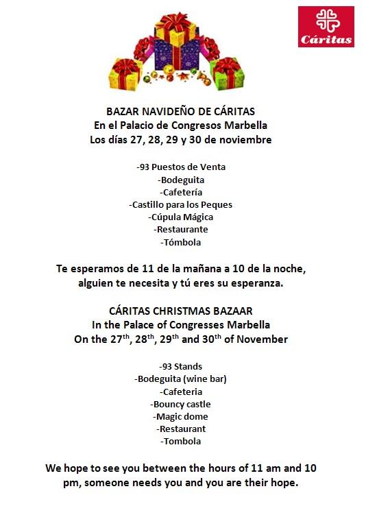 Cáritas Christmas Bazaar