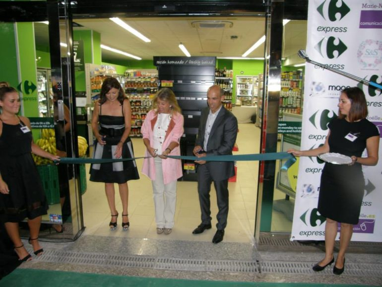Opening launch of Carrefour Express in Marbella