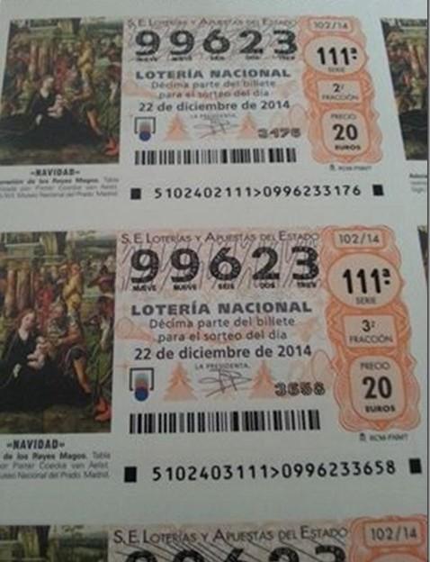 Lotería de Navidad de la Fundación de Cesare Scariolo
