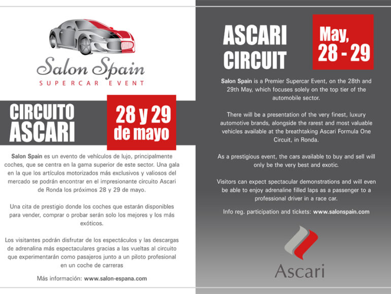 SALON SPAIN in ASCARI, RONDA