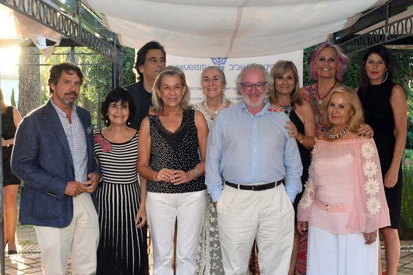 Photos de la Conférence de l'Asociación de Amigos de l'Université de Tel Aviv