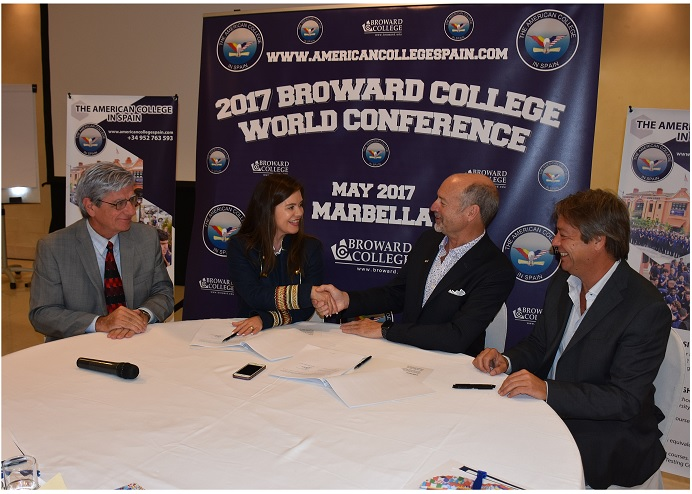 The American College in Spain becomes the International Transfer Center of Broward College
