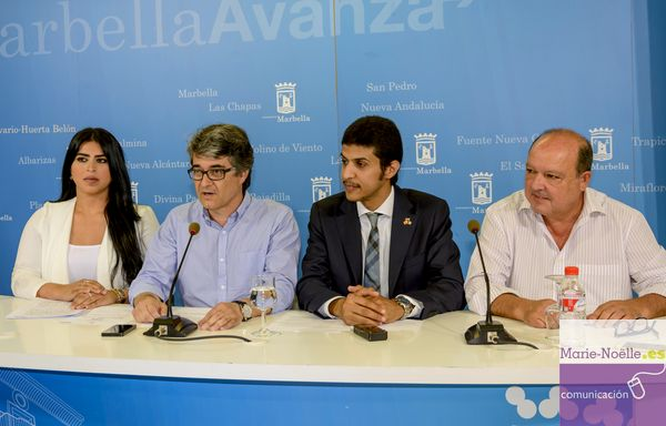 Press Conference for the presentation of the Festival Kuwait-Spain in Marbella