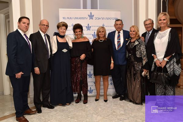 Photos of the Tel Aviv University dinner 27/10/2016