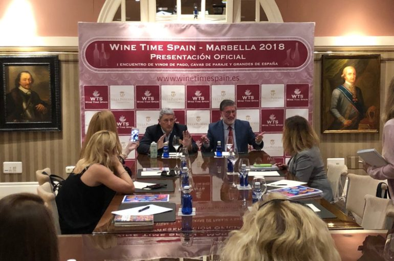 A score of companies will be participating in the first actualisation of Wine Time Marbella