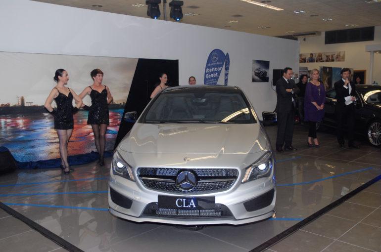 Presentación del CLA en Mercedes Benz