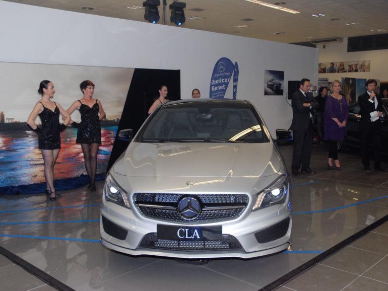 Mercedes Benz – Ibericar Benet CLA Presentation