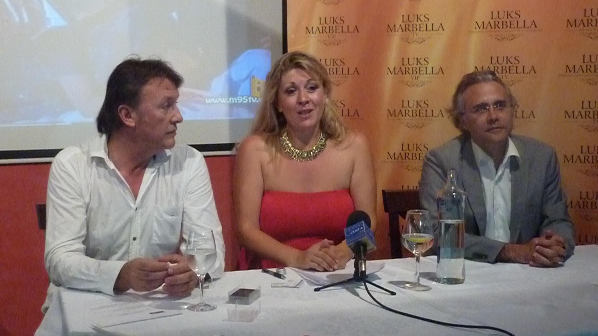 Presentación del canal ruso LUKS MARBELLA TV