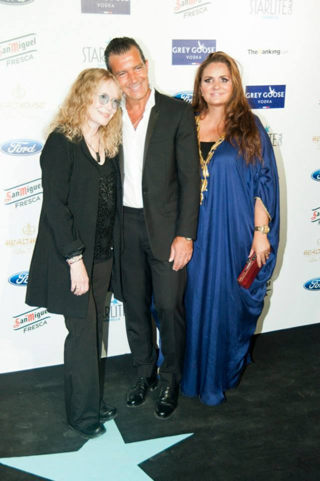 Gala STARLITE with Antonio Banderas, Mia Farrow and Sandra García Sanjuan