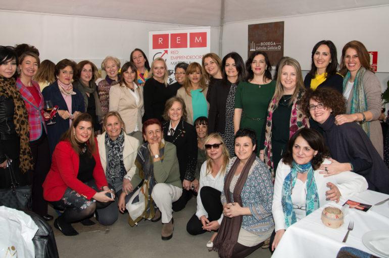 La Red Emprendedoras de Marbella y Campo de Gibraltar almuerzo con Lourdes Ribes