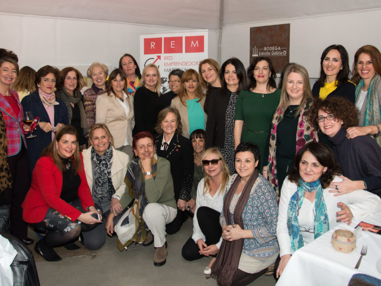 The 'Red Emprendedoras de Marbella y Campo de Gibraltar' lunch with Lourdes Ribes