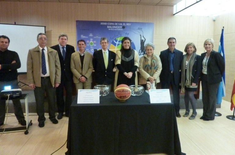 Sorteo de la Copa del Rey de Baloncesto en Silla de Ruedas