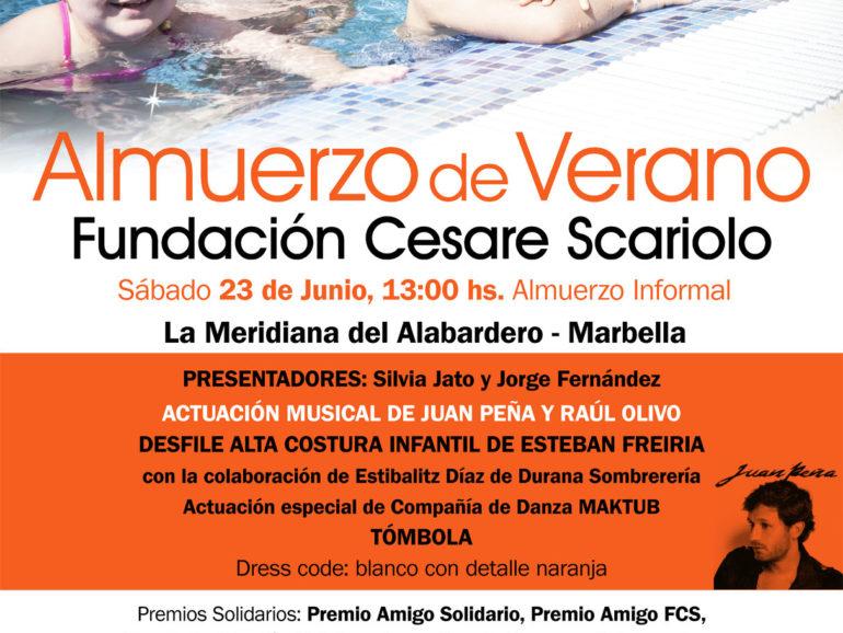 Déjeuner d'été en faveur de la Fondation Cesare Scariolo
