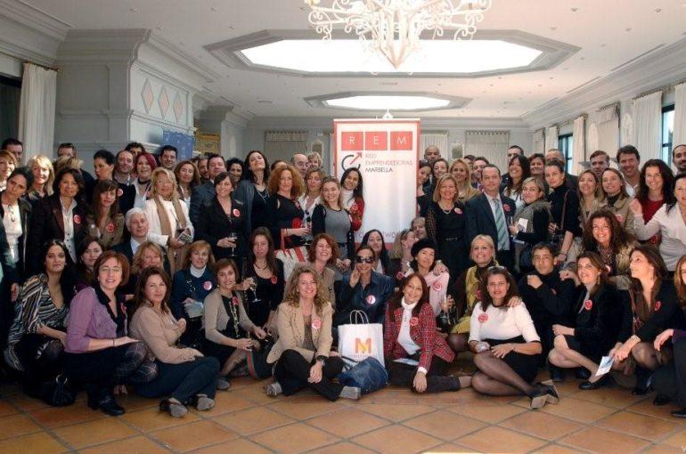 Almuerzo de Puertas Abiertas de Red de Emprendedoras de Marbella (REM)