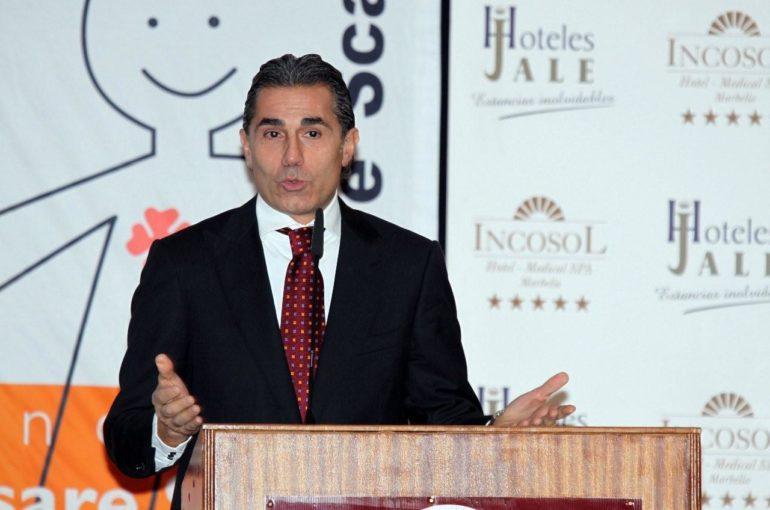 Cena coloquio de Sergio Scariolo a favor de la Fundación Cesare Scariolo