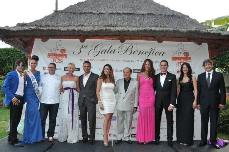 3º Gala Benéfica de la Fundación Cesare Scariolo