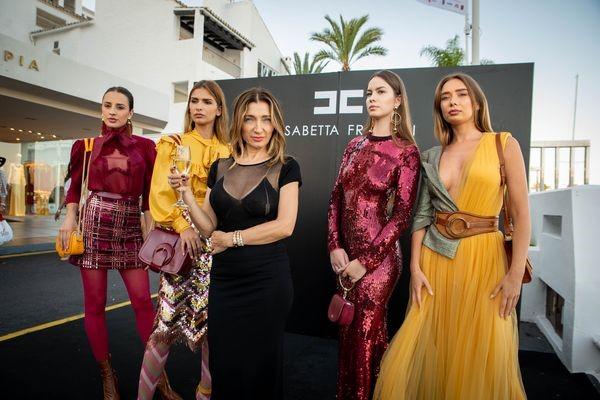 Elisabetta Franchi opens her new boutique in Puerto Banús