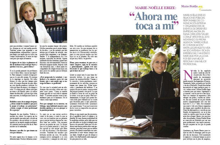 Entrevista en MUJER INNOVADORA