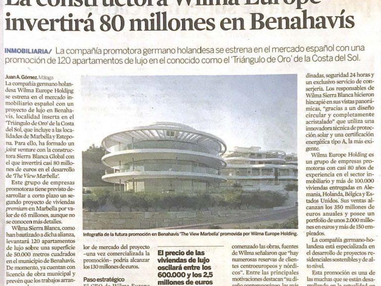 EXPANSIÓN PUBLICA UN ARTICULO DE THE VIEW MARBELLA