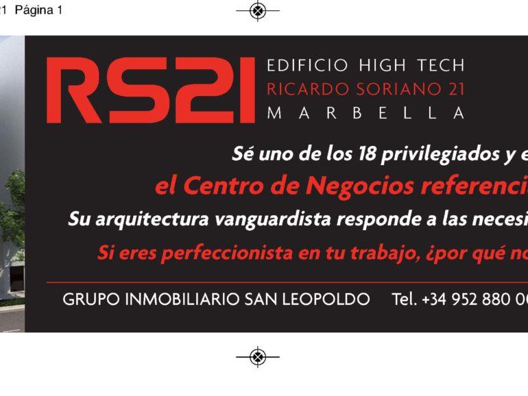 Faldón publicitario periódico – RS21
