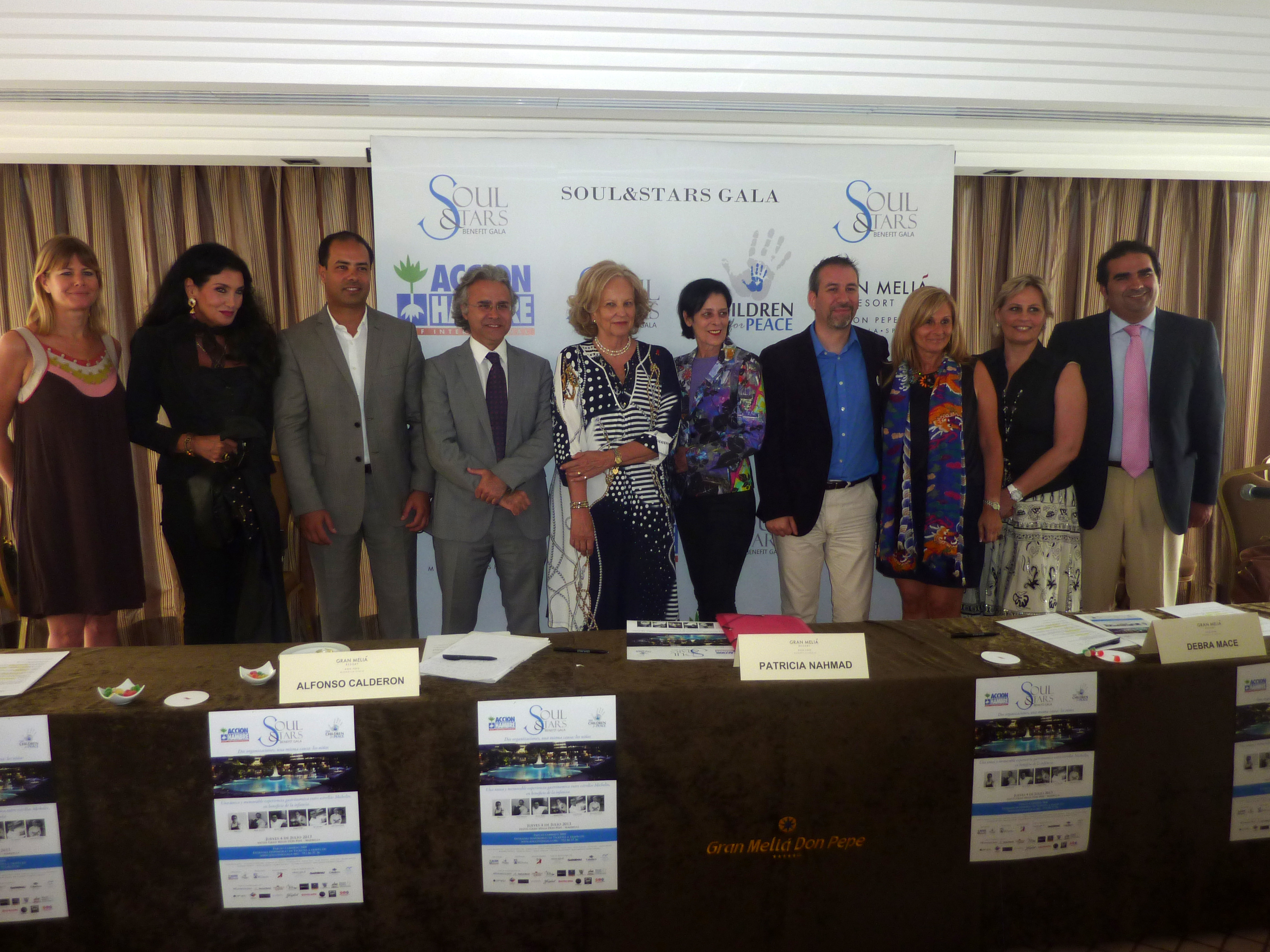 Press conference of SOUL & STARS Gala