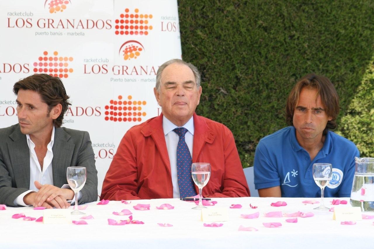 Conde Rudi, Angel Mora y Juanjo NIeto