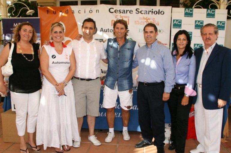 Torneo de Pádel a favor de la Fundación Cesare Scariolo