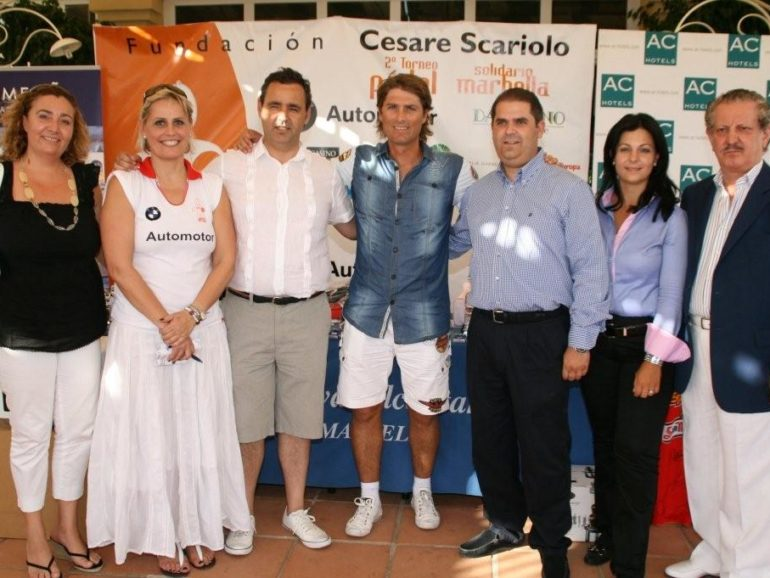 Paddle Tournament for the benefit of the Cesare Scariolo Trust