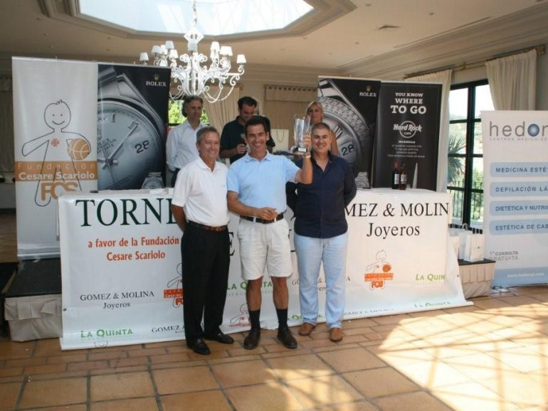 X Golf Tournament GOMEZ Y MOLINA for the Cesare Scariolo Trust