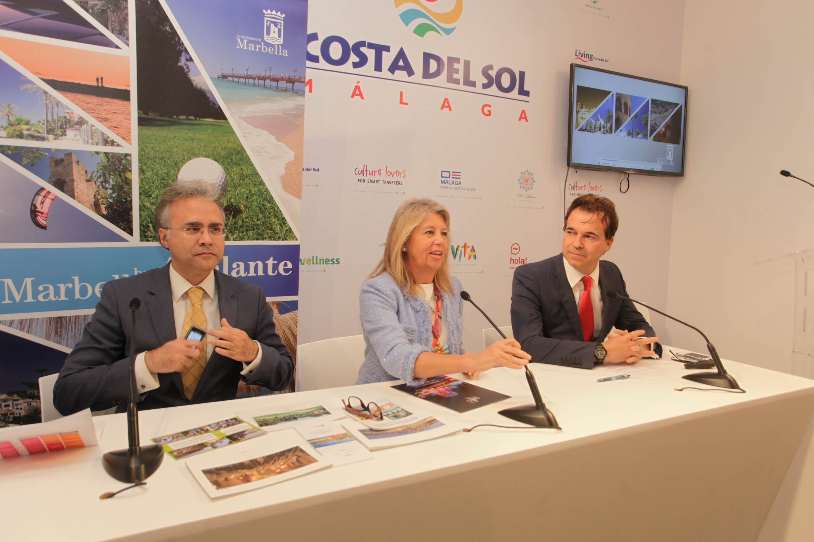 Ángeles Muñoz presented the fourth edition of Marbella Luxury Weekend at FITUR
