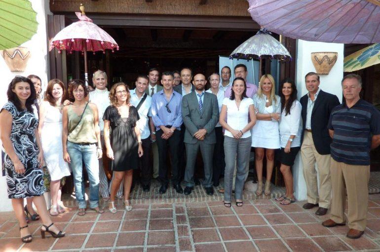 Evento Tarjeta en mano del CIT MARBELLA en Restaurante POLYNESIAN'S