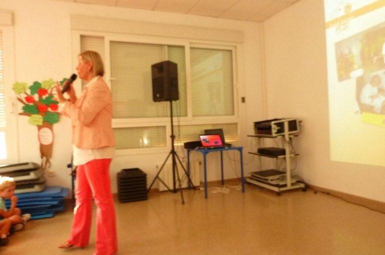 Presentación de la Fundación Cesare Scariolo en el LAUDE College de Marbella