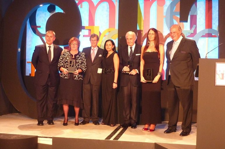 Entrega de XI Premios CIT Marbella: la Fundación Cesare Scariolo, Mejor Institución 2010