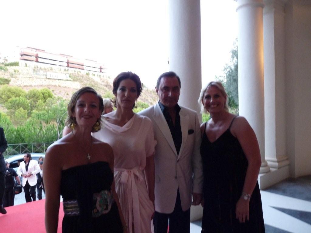 Con Carlos Herrera y mariló Montero