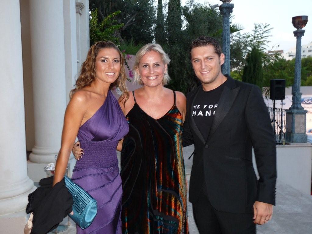 Marie-Noëlle Erize con Manu Tenorio