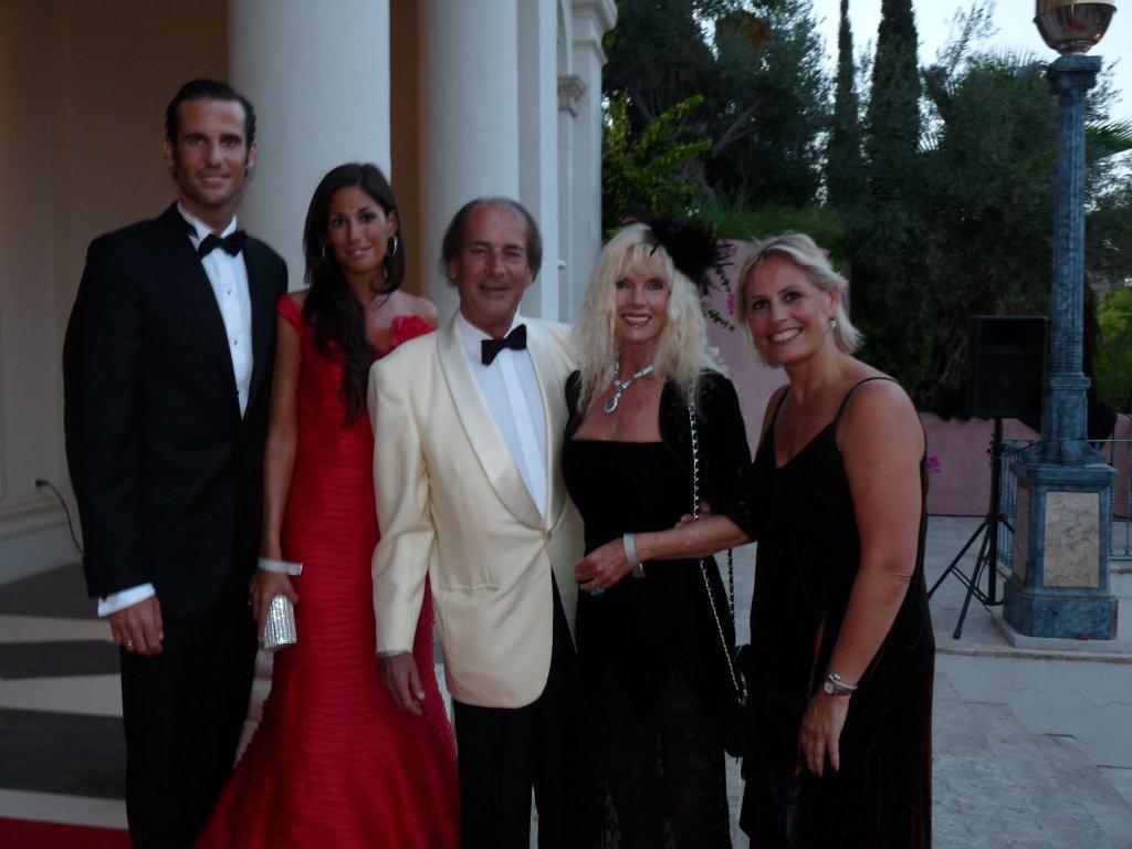 Marie-Noëlle Erize con Gunilla Von Bismark, Luis Ortiz, Francisco Ortiz Von Bismark