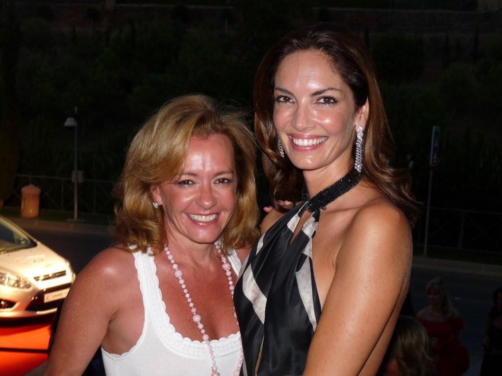 Caroline Gruosi-Scheufele y Eugenia Silva