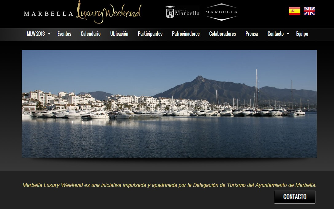 Marbella Luxury Weekend Website is now up and running!