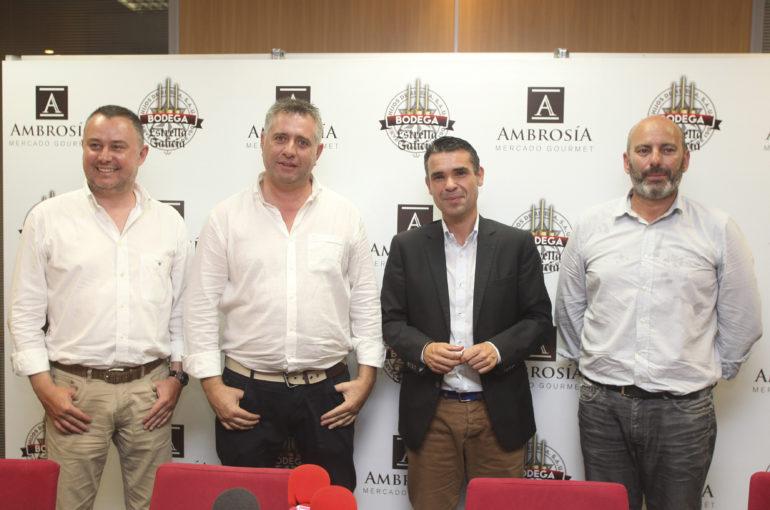 Rueda de prensa de presentación de Ambrosía Mercado Gourmet