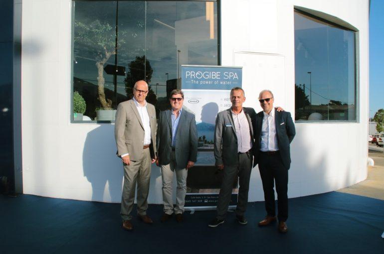 Inauguración del showroom Progibe Spa en Marbella
