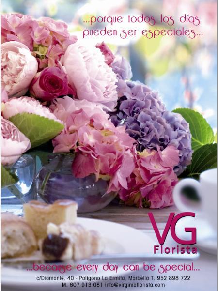 Publicidad de Virginia Florista