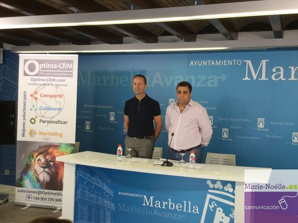 Marbella, headquarters of the official launch of the Optima-CRM software for Real Estate