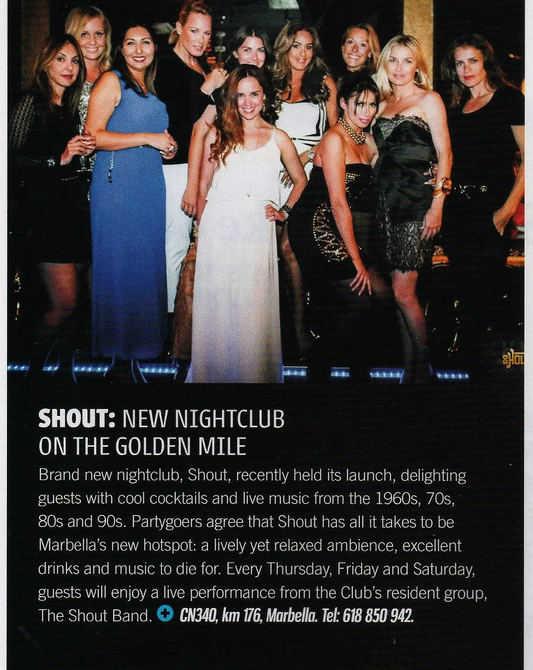 Opening de SHOUT en Essential Magazine