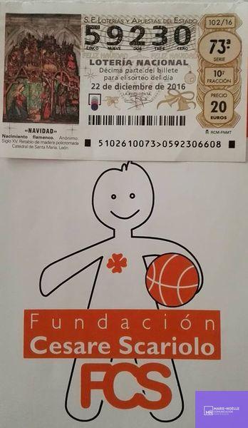 Lotería de la Fundación Cesare Scariolo